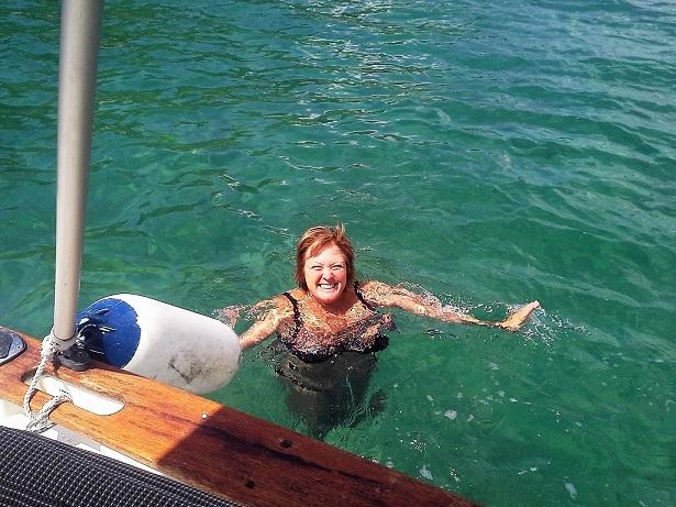 Découverte de nouvelles criques et baignade autour du bateau