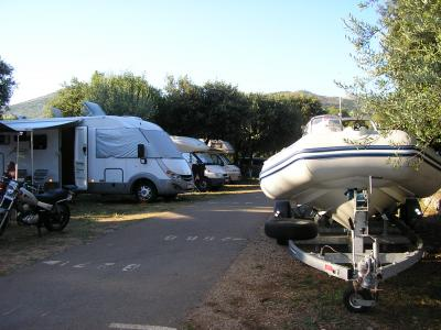 Camping solutido a Dubronick