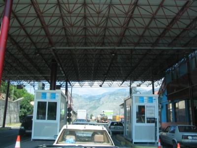 frontière monténégro / Albabie