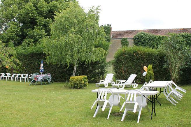 style garden party